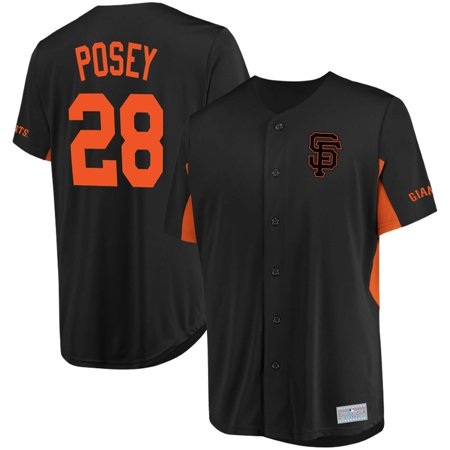Buster Posey San Francisco Giants Majestic MLB Jersey - Black