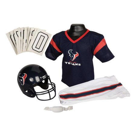 eee4bb196687 Franklin Sports NFL Houston Texans Youth Licensed Deluxe Uniform Set ...