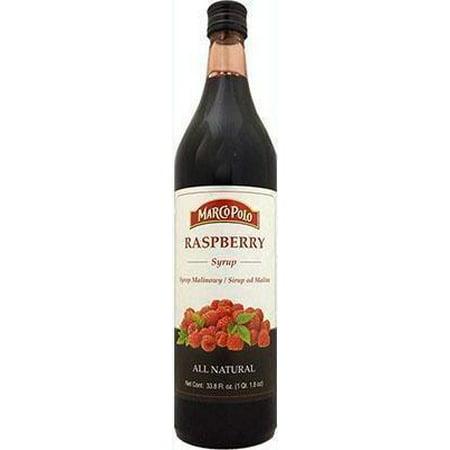 Raspberry Flavored Syrup - Raspberry Syrup (MP) 33fl.oz