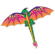 "Gayla Industries 961 3D Dragon Ripstop Nylon Kite-55"" Wingspan (Single Kite)"