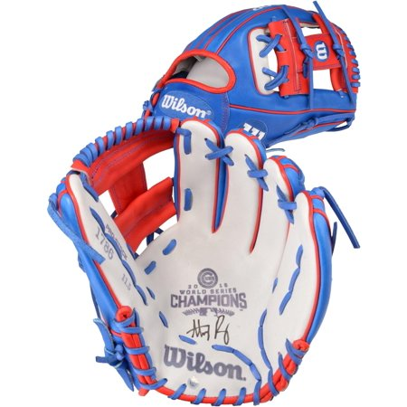 e690402f Anthony Rizzo Chicago Cubs 2016 MLB World Series Champions Autographed  Wilson A2000 Commemorative Champions Glove - Fanatics Authentic Certified -  Walmart. ...