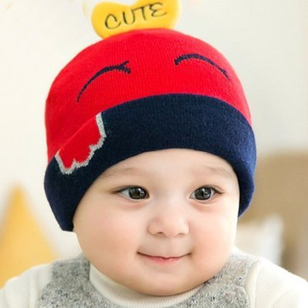 Newborn Kids Baby Boy Girl Cartoon Hat Winter Warm Knit Crochet Beanie Cap  - Walmart.com 76d2f1ad077