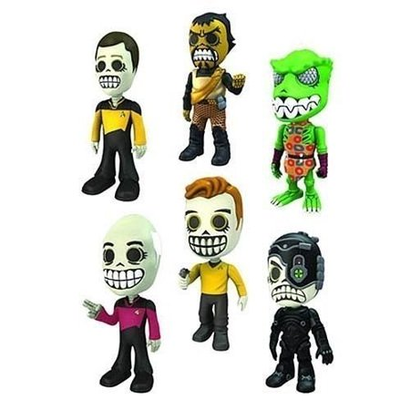 Star Trek: Skele-Trek Mini-Figures Series 1 Set of (Noah's Ark Toy Set)