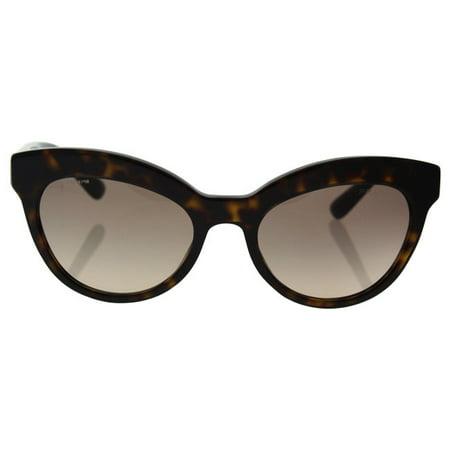 017bdba1072 Prada - Prada SPR 23Q 2AU-3D0 Women s Havana Frame Light Brown Gradient  Light Grey Lens Sunglass - Walmart.com