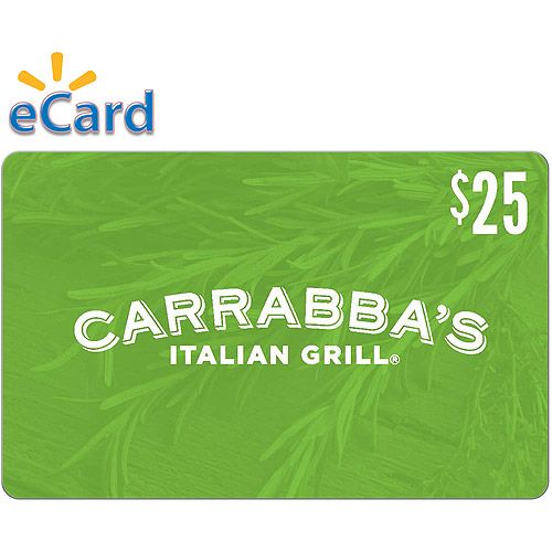 Carrabbas Italian Grill $25 (Email Delivery)