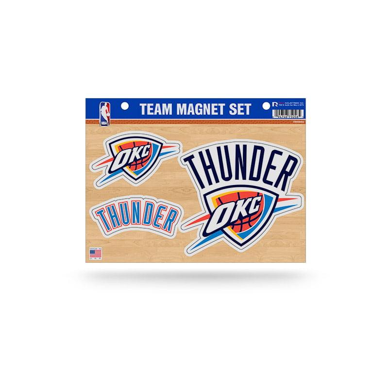 Oklahoma City Thunder Official NBA 8 inch x 11 inch  Team Car Magnet Sheet by Rico