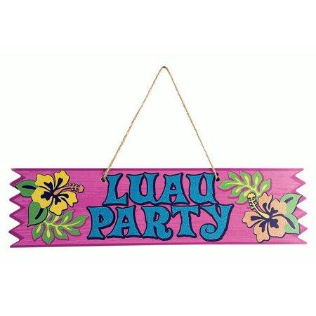 Forum Summer Luau Party Plaque 4