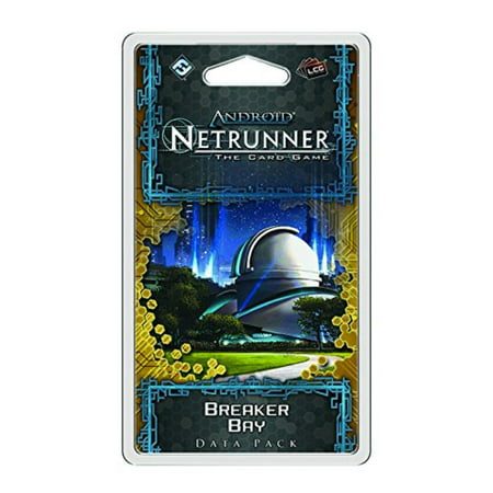 Android: Netrunner The Card Game - Breaker Bay Data Pack, The second Data Pack in the SanSan Cycle for Android: Net runner By Fantasy Flight (Best Brick Breaker Game For Android)