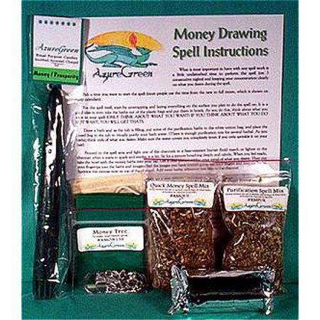 - Fortune Telling Toys Magic Spell Kit Money Drawing Green Magic Intention