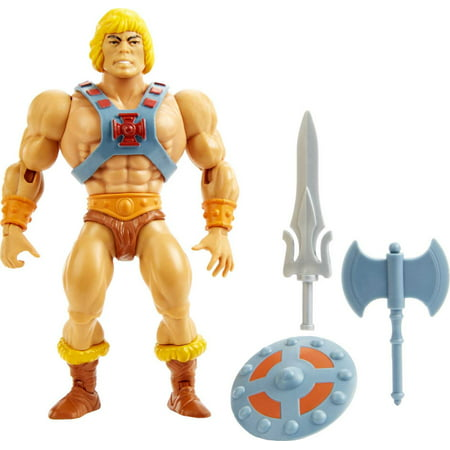 Masters Of The Universe Origins He-Man Action Figure, Battle Character For Storytelling Play And Display