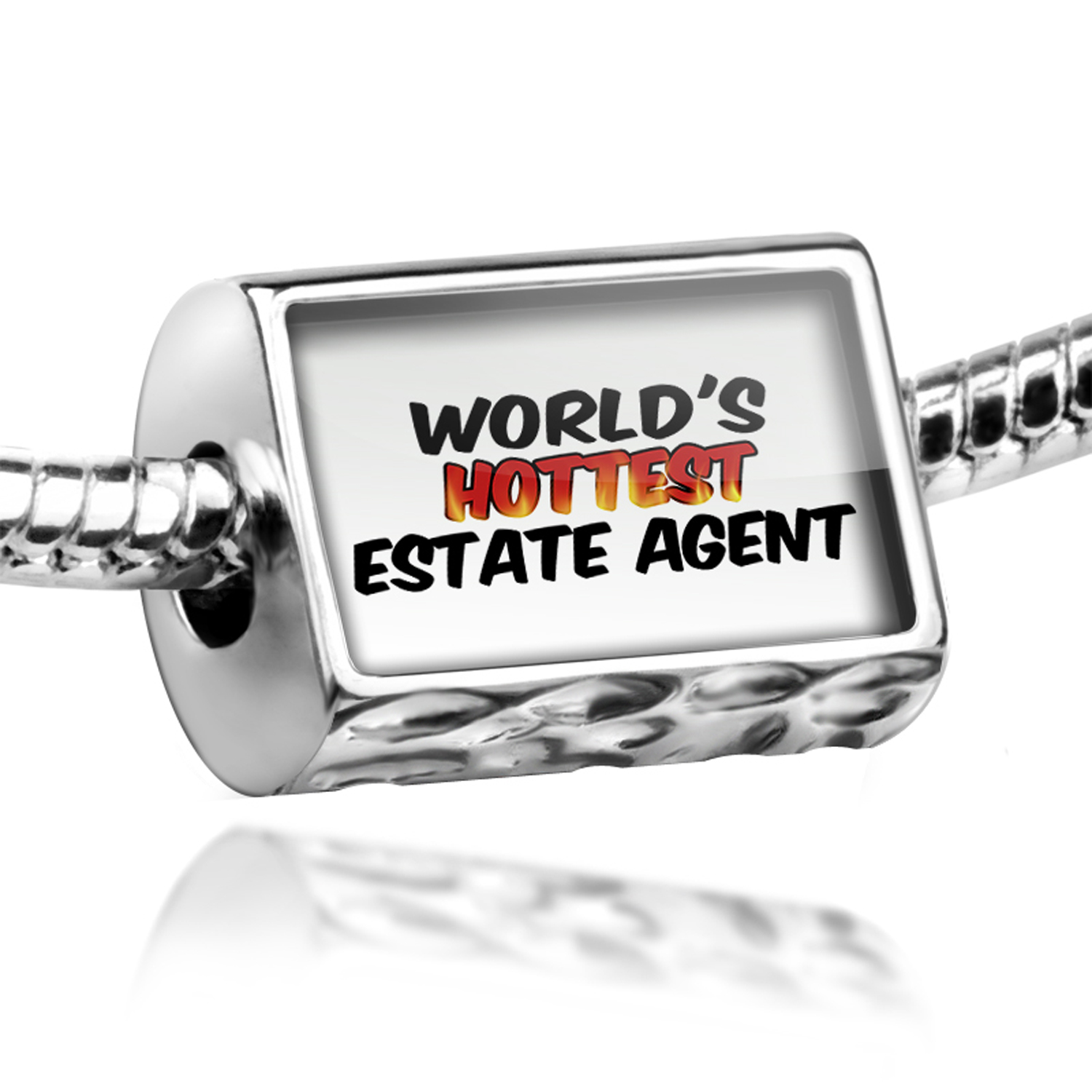 Bead Worlds hottest Estate Agent Charm Fits All European Bracelets
