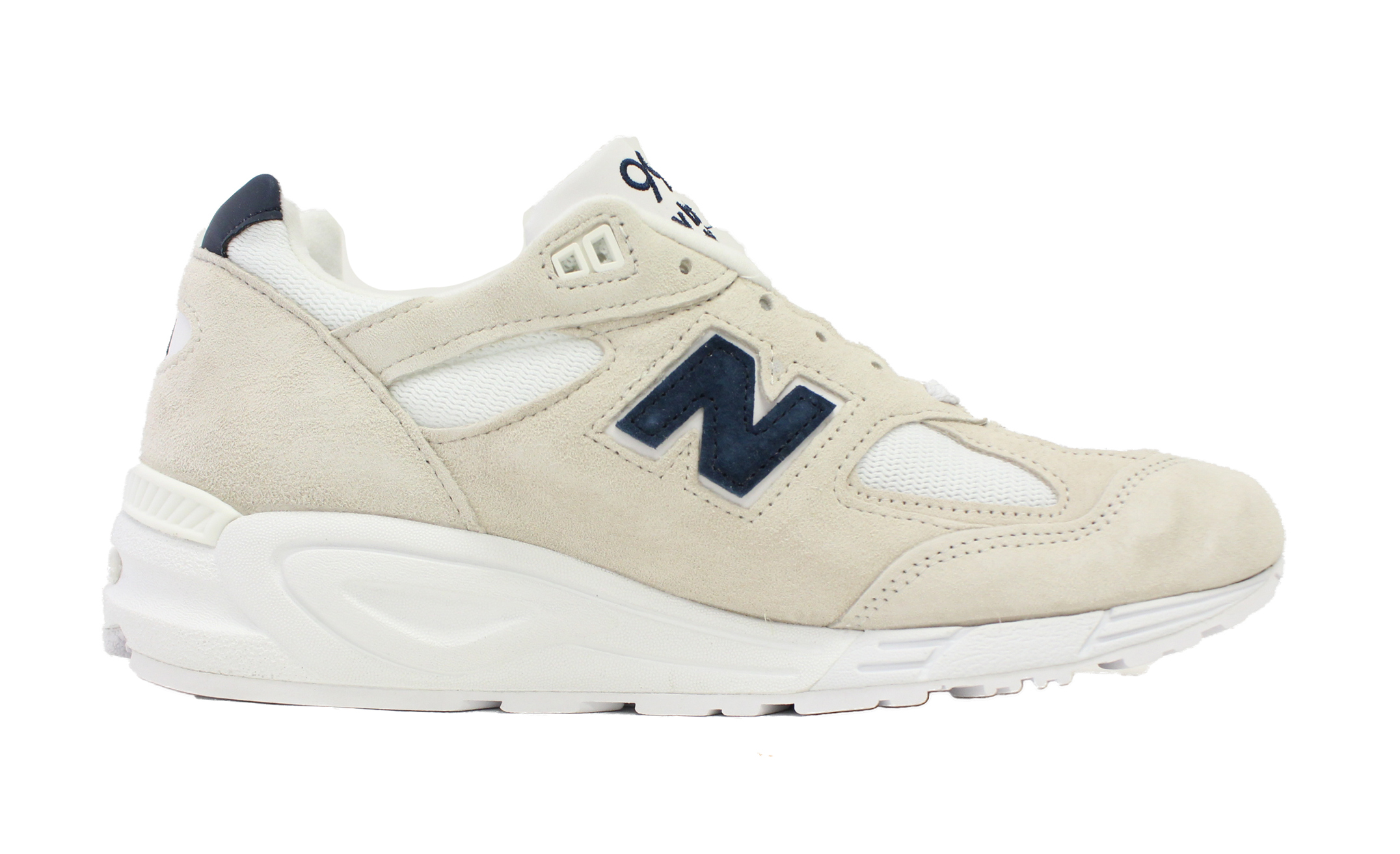 NEW BALANCE 990 MADE IN USA OFF WHITE