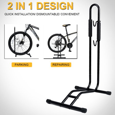 WALFRONT Bicycle Floor Parking Holder Stand Garage Storage Rack Bike  Accessories, Bike Parking Holder, Bike Storage Rack