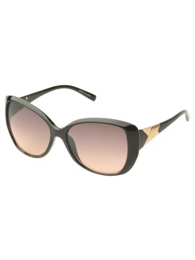 4665942c3 Product Image MLC Eyewear 'Fayetteville' Butterfly Fashion Sunglasses in  Black-gold
