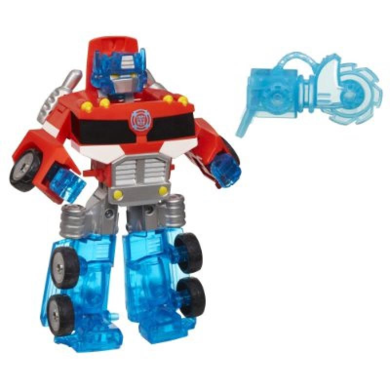 Playskool Heroes Transformers Rescue Bots Energize Optimus Prime Figure by Hasbro