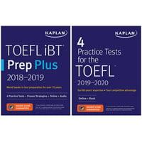 TOEFL Prep Set : 2 Books + Online
