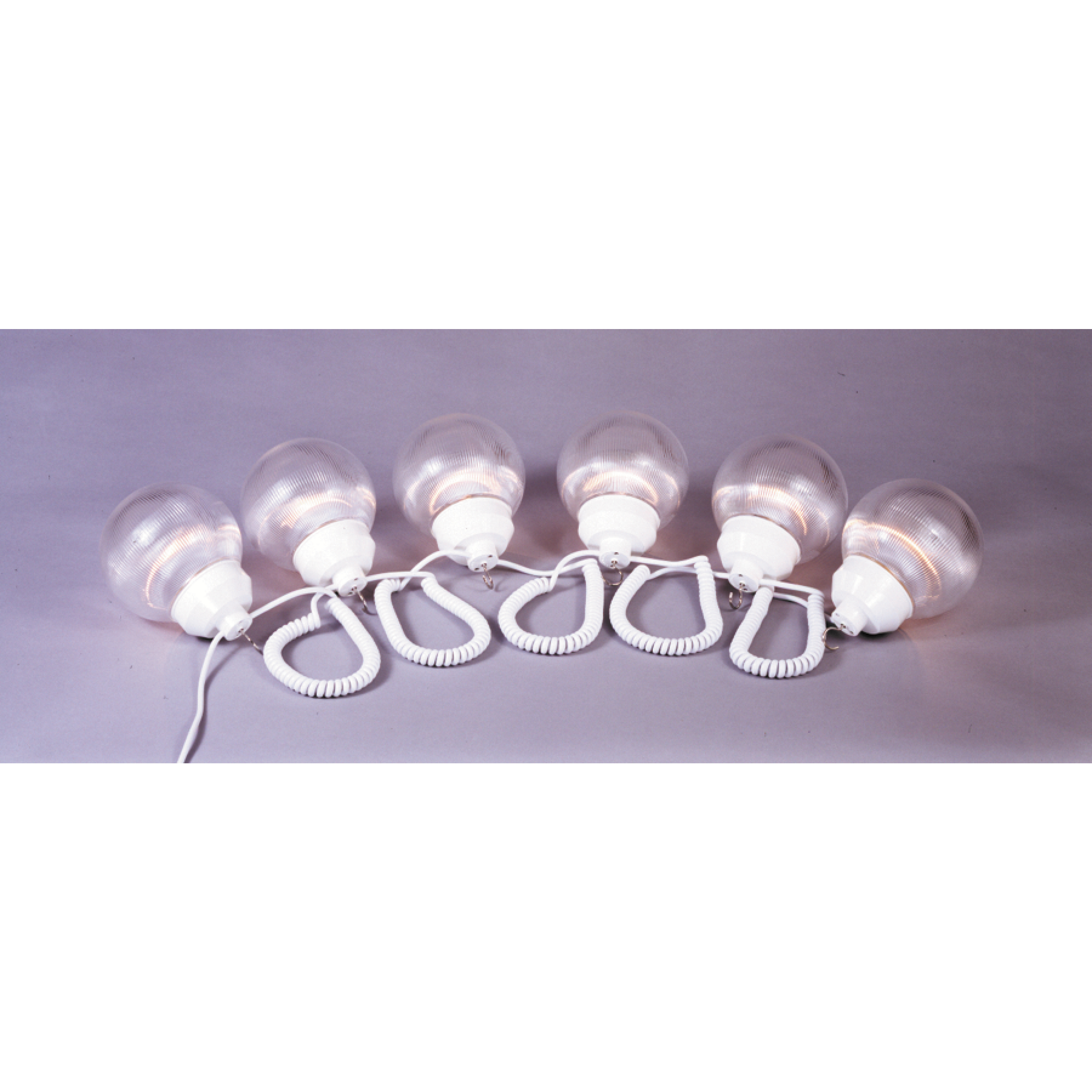 """Polymer Products 6"""" RV Globe Lights - String of 6"""
