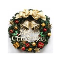 Christmas Wreath Door Hanging Artificial Garland Wall Festival Xmas Window Decor