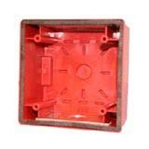 Wheelock Cooper Wheelock IOB-R Iob Indoor/Outdoor Backbox Red