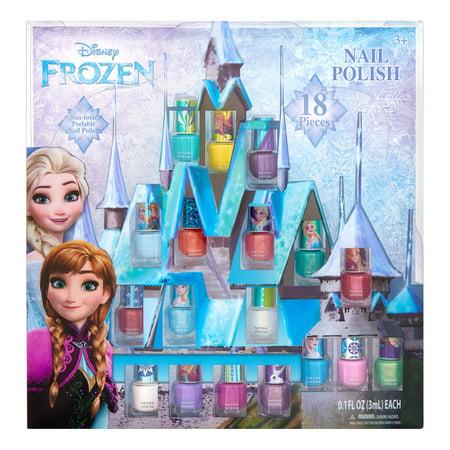 Disney Frozen Peel-Off Nail Polish Gift Set, 18 Pieces ($15