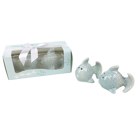 Just Artifacts Kissing Fish Salt and Pepper Shakers - Perfect Party Favors or Gifts for Weddings, Bridal Parties, and Home Decor.](Gifts For Bridal Party)