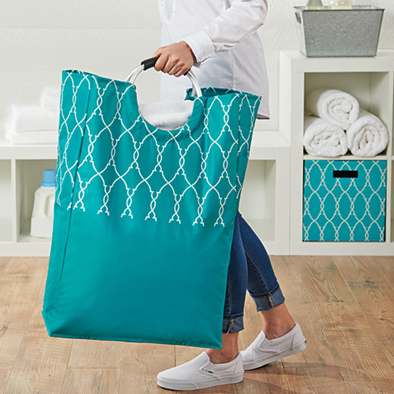 Better Homes and Gardens Laundry Bag Tote Canvas with Handles