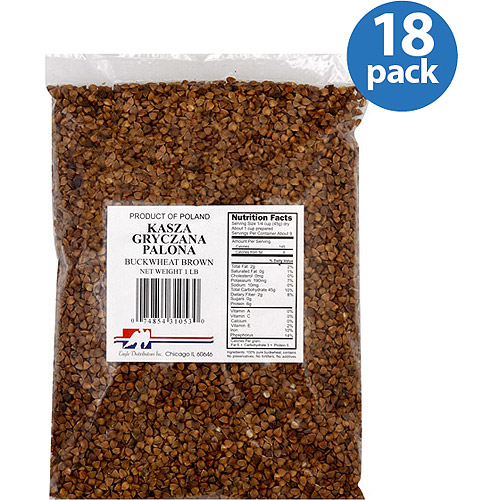Eagle Distributors Inc. Brown Buckwheat, 16 oz, (Pack of 18)