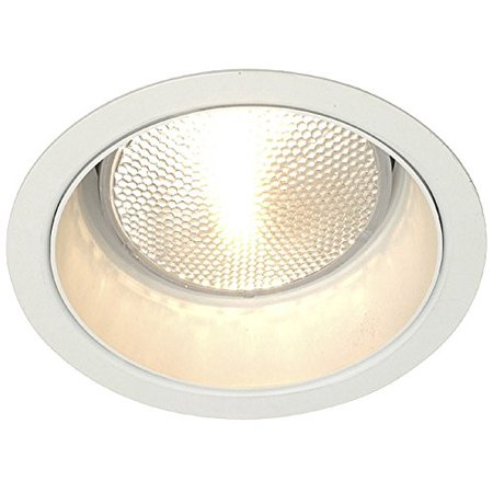 Lightolier 1013WH 5 Inch Down Light Cone Reflector Trim Round Matte White Lytecaster