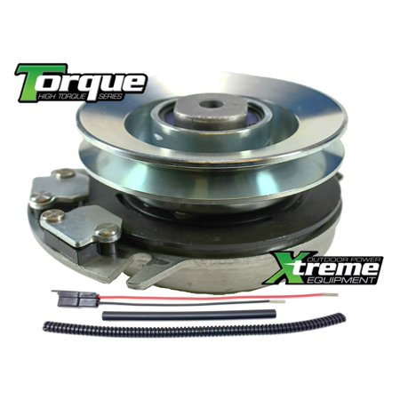 bundle - 2 items: pto electric blade clutch, wire harness repair kit   replaces alpina 18399063/0 pto clutch, oem upgrade!! w/ wire harness repair  kit