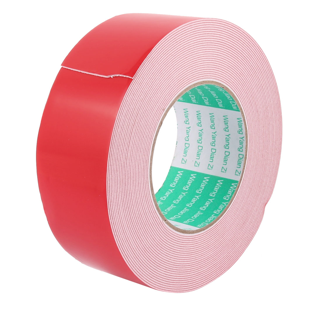 Unique Bargains 5CM Width 10M Length 1MM Thick White Double Sided Waterproof Sponge Tape for Car