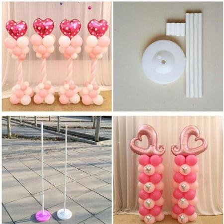 160cm Balloon Column Base Stick Plastic Poles Balloon Arch Wedding