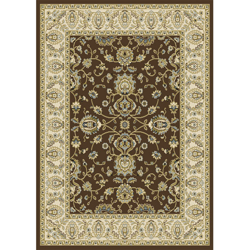 Home Dynamix Optimum Collection Area Rug, Brown-Ivory