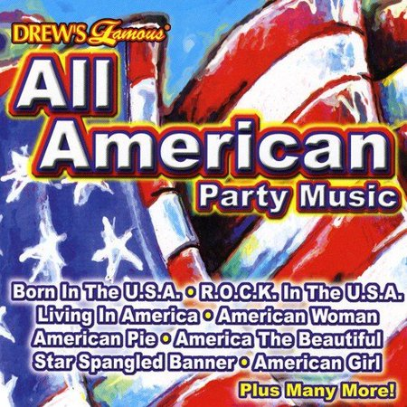 Drew's Famous Halloween Party Music Cd (All American Party Music)