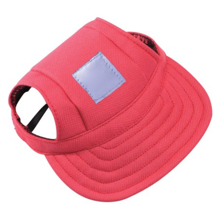 Dog Pet Baseball Visor Hat Peaked Cap Puppy Outdoor Summer Hats