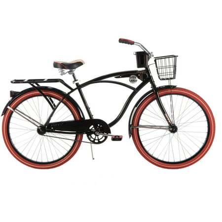 26  Huffy Mens Nel Lusso Cruiser Bike  Black