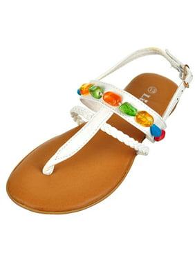 Link Girls' Sandals (Sizes 9 - 4)