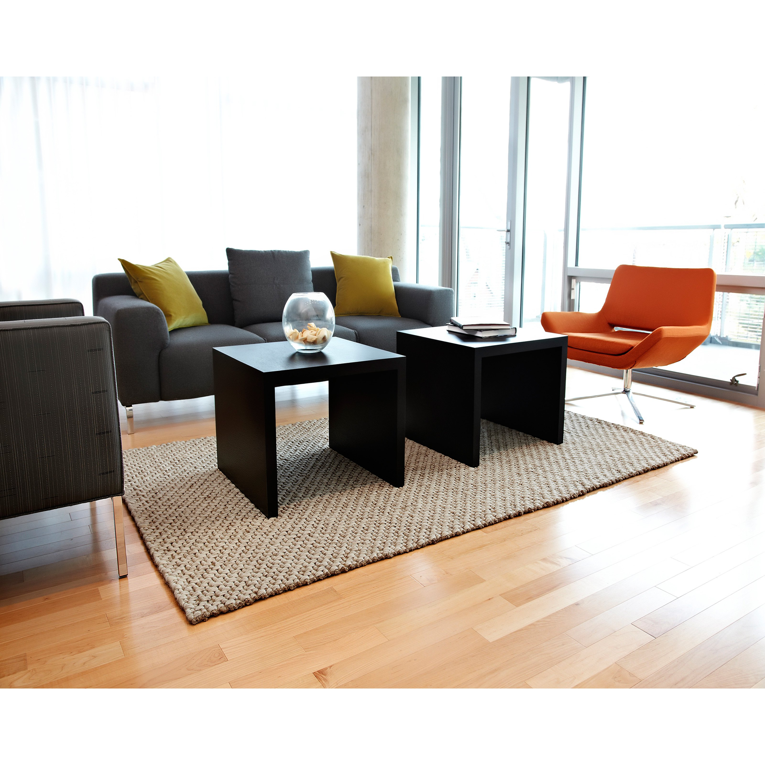 Mumbai Wool And Jute Rug-Size:5'W x 8'L
