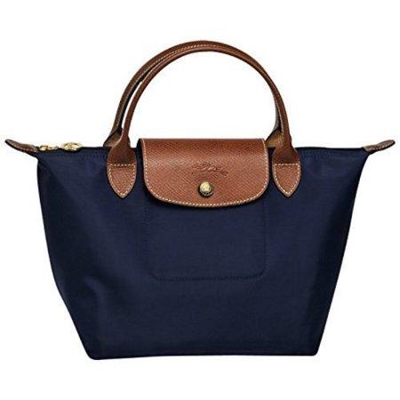 Longchamp Paris Le Pliage Small Handbag New Navy