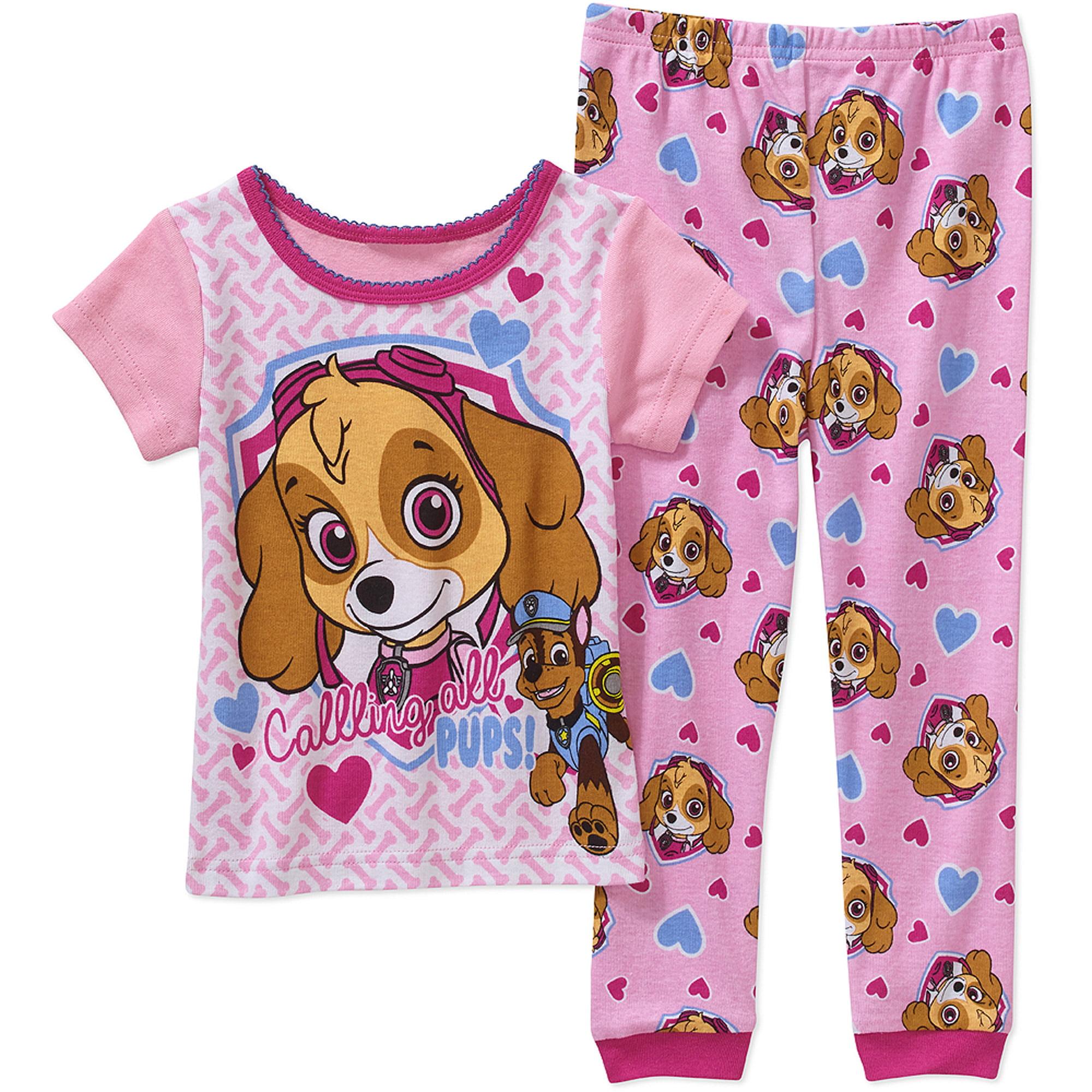 Paw Patrol It Girls Lic Sleepwear - Walmart.com