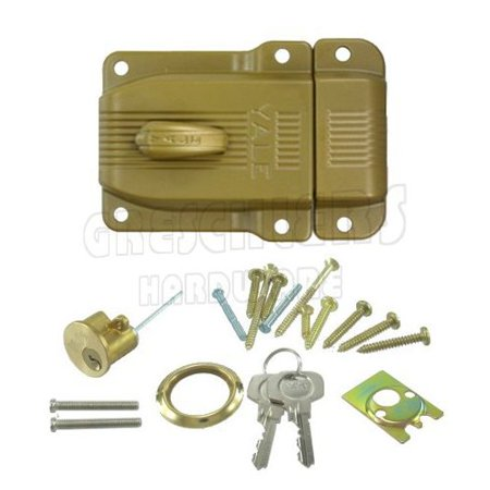 Yale Jimmy Proof Single Cylinder Deadlock