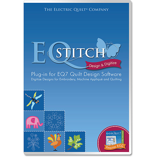 EQStitch Embroidery Software Plug-In For EQ7