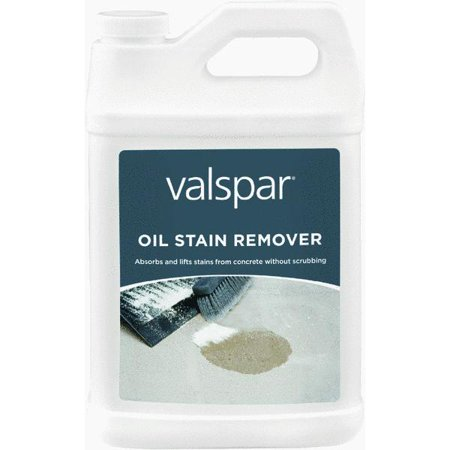 Valspar oil stain remover for Concrete cleaner oil remover