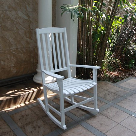 mainstays outdoor rocking chair white. Black Bedroom Furniture Sets. Home Design Ideas