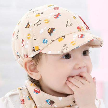Outtop Baby Kid Boy Girl Toddler Infant Hat Little Car Baseball Beret Cap - Honda Cbr Racing Hat