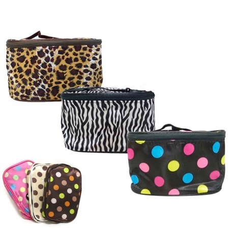 Little Black Travel Case - Cosmetic Travel Bag Beauty Girl Fashion Multifunction Makeup Pouch Toiletry Case