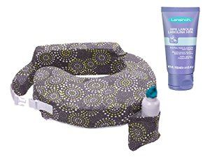 My Brest Friend Original Nursing Pillow with HPA Lanolin, Fireworks by My Brest Friend