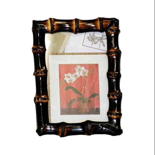 Burnt Bamboo Root Frame (5 in. L x 7 in. W)