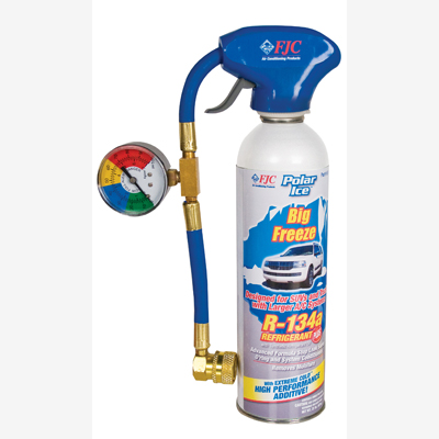 FJC 501 R134a with Synthetic Refrigerant Oil, Extreme Cold Synthetic Performance Enhancer, Advanced Formula Stop Leak Se