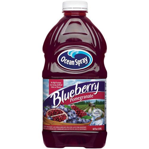 Ocean Spray: Blueberry Pomegranate Juice Drink, 64 Oz