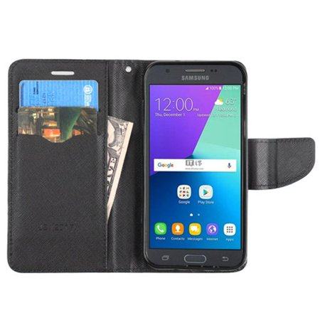 Insten Flip Leather Wallet Case Cover with Card slot For